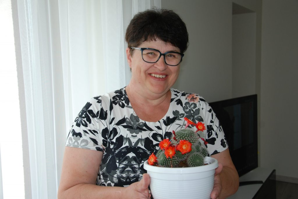 Mūsų skaitytojų socialiniuose tinkluose nuomone, gražiausius kaktusus Kretingos rajone augina Rima  Dobrovolskienė. Aisto Mendeikos nuotr.