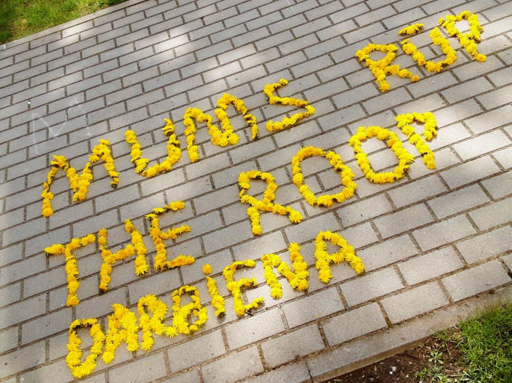 """""""The Roop"""" palaiko Darbėnų gimnazijos priešmokyklinukai su mokytoja Edita Gliožeriene ir visa Darbėnų seniūnija."""