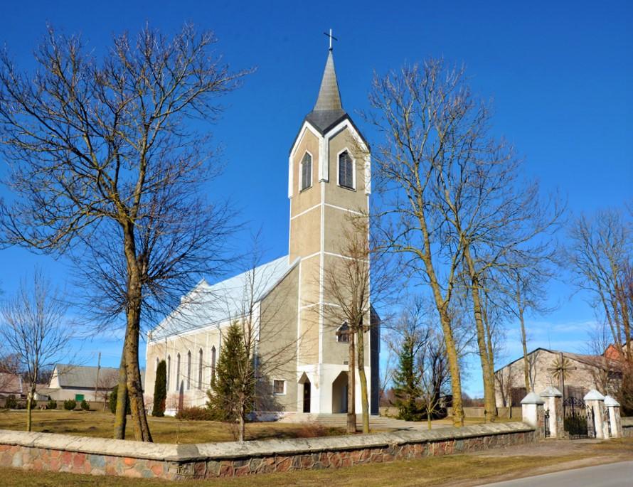 Jokūbavo Švč. Mergelės Marijos bažnyčia.
