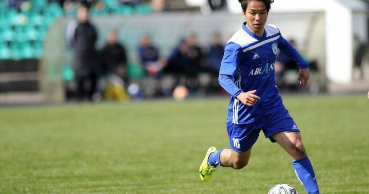 Shogo Osawa išsiskyrė aktyviu žaidimu. ReAl moments nuotr.