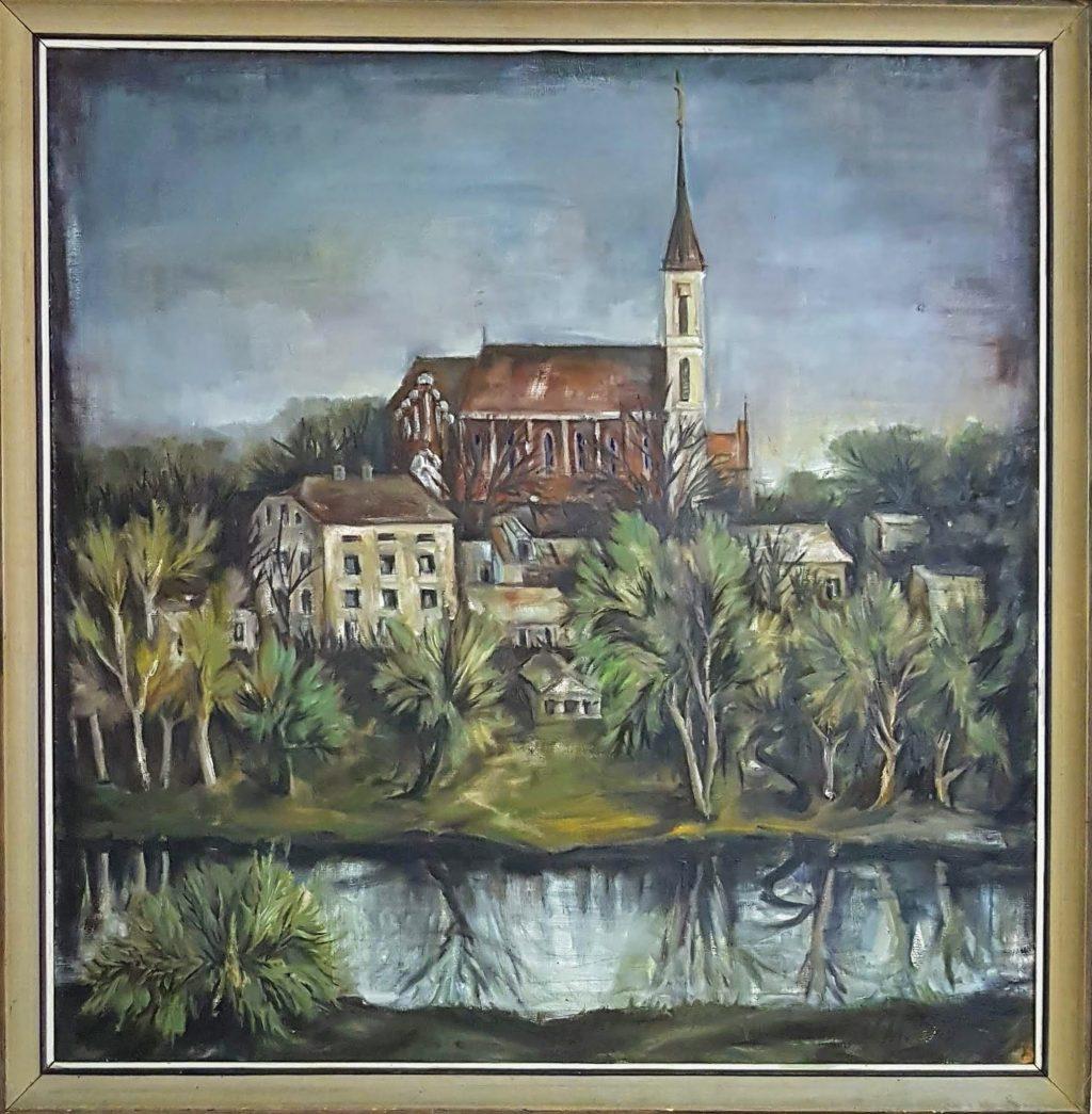 Vytauto Moncevičiaus - Mončio paveikslas. Vydmantų kultūros centro nuotr.