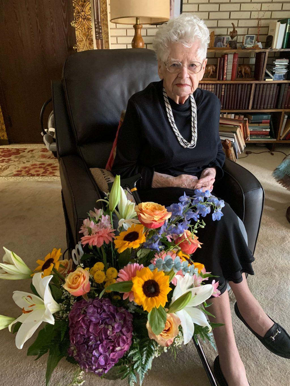 JAV gyvenanti Prezidento Aleksandro Stulginskio vienturtė dukra Aldona Stulginskaitė-Juozevičienė prieš kelias savaites paminėjo 100-ąjį gimtadienį. Asmeninio archyvo nuotr.