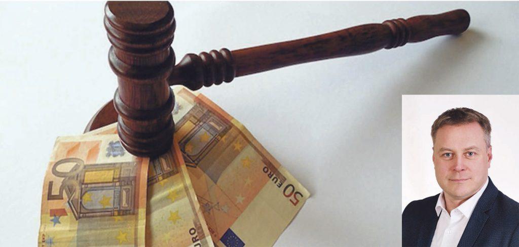 Bylinėjimasis su meru Antanu Kalniumi Kretingos rajono savivaldybės biudžetą gali sumažinti apie 5 tūkst. eurų. Asociatyvi nuotr.