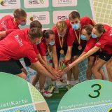 Kretingos badmintoninkai džiūgauja iškovoję Lietuvos bronzą.