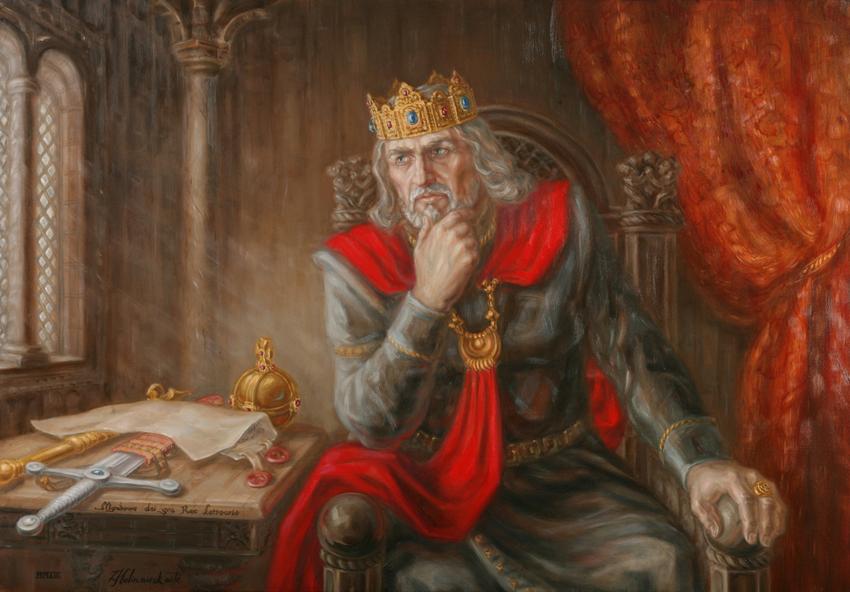 Lietuvos karalius Mindaugas.