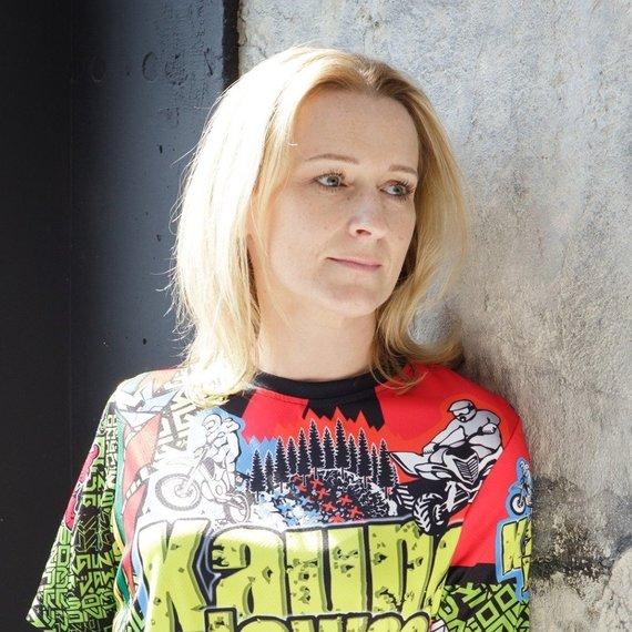 To, ką praėjusį savaitgalį pamatė Skuode, Lietuvos motociklų sporto federacijos prezidentė Giedrė Janušauskė nebuvo iki šiol mačiusi. Lietuvos motociklų sporto federacijos nuotr.