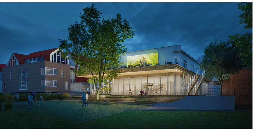 """Štai tokią """"Naglio"""" vizualizaciją pasiūliusi architektų komanda komisijos buvo pripažinta nugalėtoja, kol nepaaiškėjo neatitikimai viešųjų pirkimų reikalavimams."""