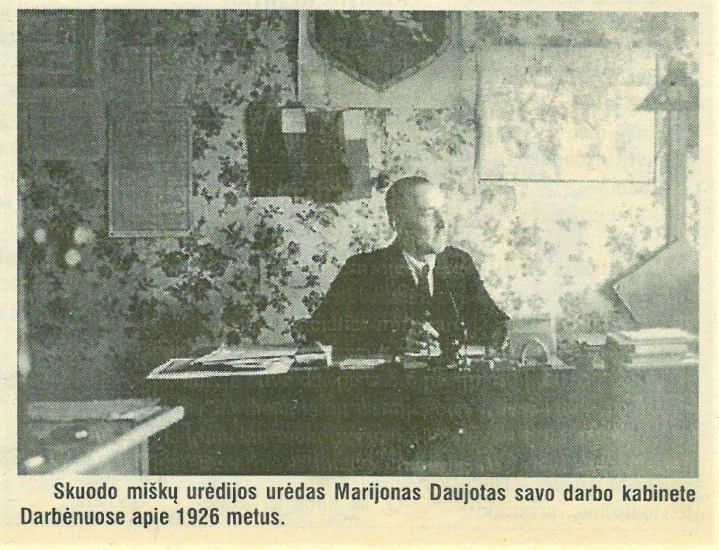 """Marijonas Daujotas. """"Švyturys"""", 2001 m., gruodžio 15 d."""