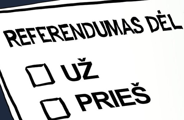 referendumas foto