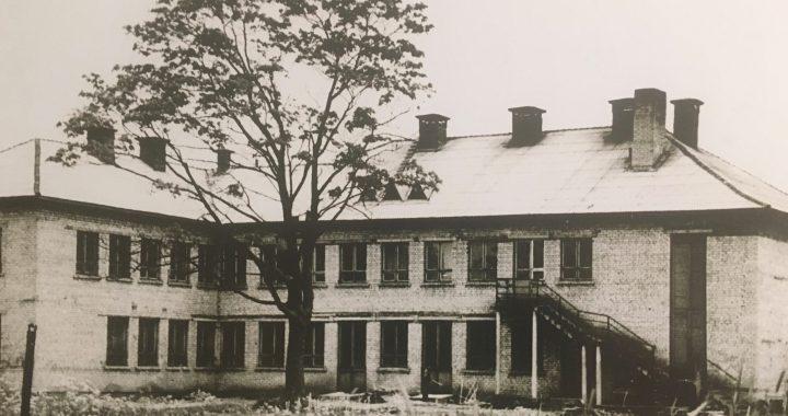 Pirmieji Baublių kultūros namai buvo įsikūrę čia. Pastatas statytas 1961 m., nugriautas 2004 m.