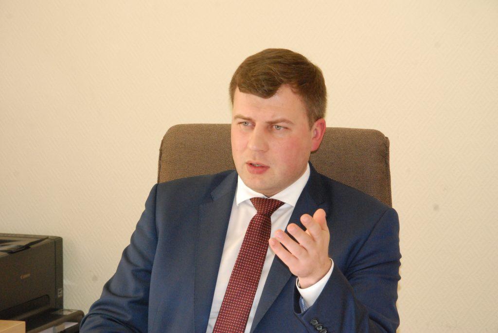 Kretingos rajono savivaldybės direktorius Egidijus Viskontas.