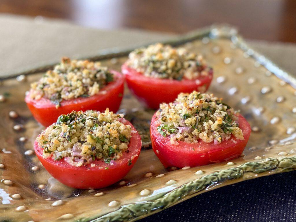 idaryti pomidorai