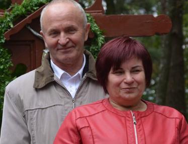 Edvardas Tadevušas ir Birutė Stamokai.