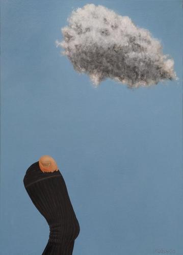 Atvirumas (Openness) 70x50 cm, drobė, akrilas, 2020 m.
